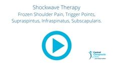 Shockwave Therapy, Frozen Shoulder Pain, Trigger Points, Supraspintus, Infraspinatus, Subscapularis.