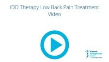 IDD Therapy Low Back Pain Treatment Video