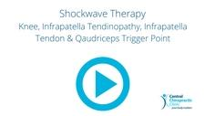 Shockwave Therapy Knee, Infrapatella Tendinopathy, Infrapatella Tendon & Qaudriceps Trigger Point
