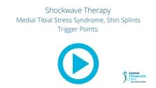 Shockwave Therapy for Medial Tibial Stress Syndrome, Shin Splints Trigger Points.