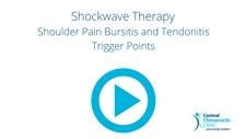 Shockwave Therapy for Shoulder Pain Bursitis and Tendonitis Trigger Points