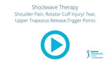 Shockwave Therapy, Shoulder Pain, Rotator Cuff Injury/ Tear, Upper Trapezius Release,Trigger Points