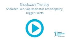 Shockwave Therapy for Shoulder Pain, Supraspinatus Tendinopathy, Trigger Points
