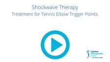 Shockwave Therapy, Treatment for Tennis Elbow Trigger Points.
